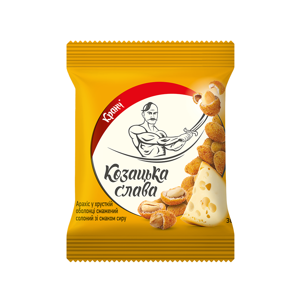 Peanuts roasted salted a crispy shell with a cheese flavor