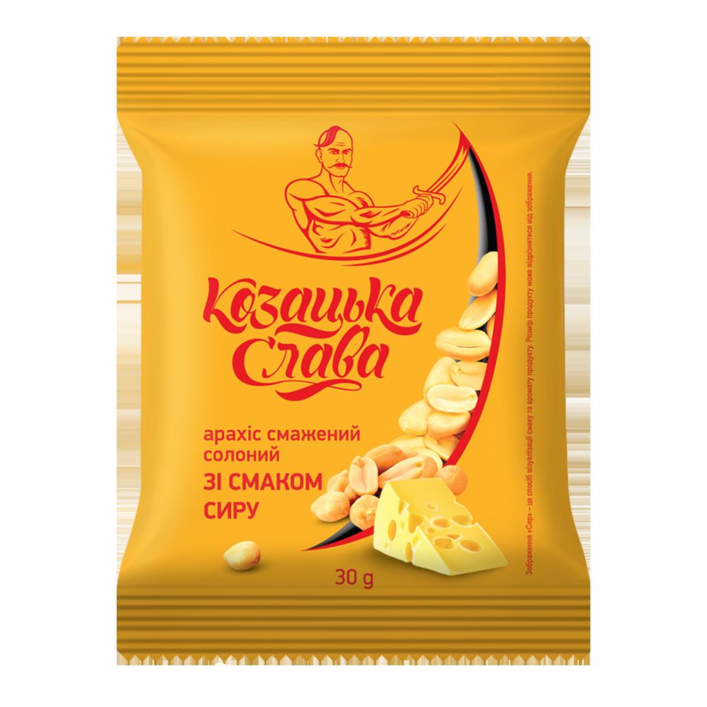 Арахис жареный со вкусом сыра