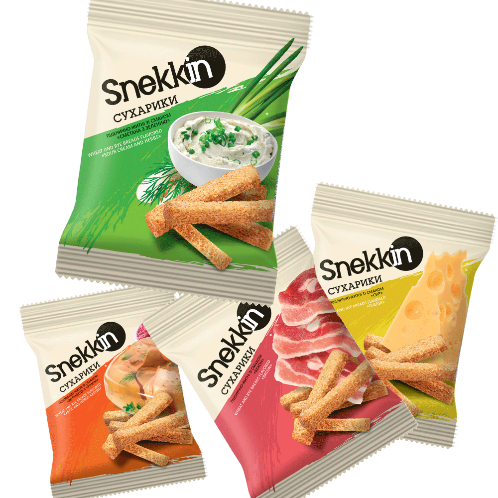Snekkin bread-sticks